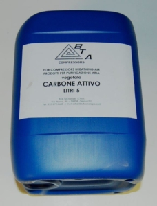 Carbone attivo vegetale