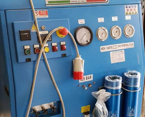 Compressore per l'industria